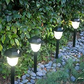 Jardin espacio deco for Luces de jardin exterior